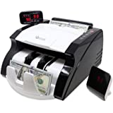 GStar Money Counter with UV/MG/IR Counterfeit Bill Detection Plus External Display USA Brand with Warranty, American Brand, A