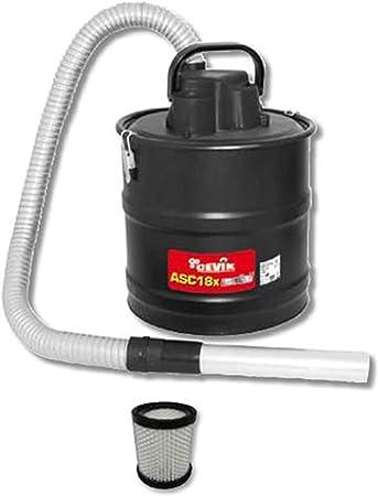 Cevik CE-ASC18X - Aspirador eléctrico especial para recogida de cenizas. 1000 W. Accesorios incluidos: Amazon.es: Bricolaje y herramientas