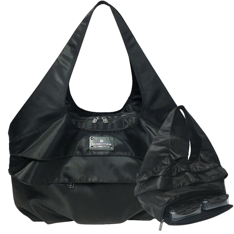6 Pack Fitness Asana Meal Prep Yoga Tote Bag