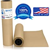 """Brown Jumbo Kraft Paper Roll - 18"""" x 2100"""" - Made in The USA - Ideal for Packing, Moving, Gift Wrapping, Postal, Shipping, Parcel, Wall Art, Crafts, Bulletin Boards, Floor Covering, Table Runner"""