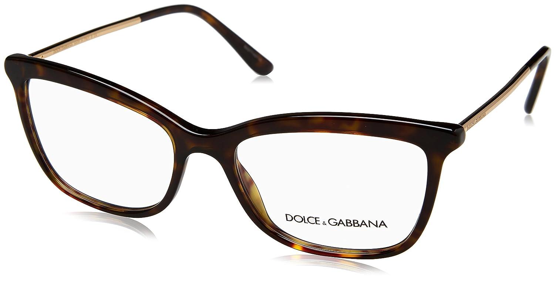 Dolce & Gabbana frame (DG-3286 502) Plastic - Metal Dark Havana - Gold 0DG3286