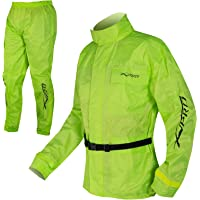 A-pro Conjunto de chaqueta y pantalones impermeables impermeable
