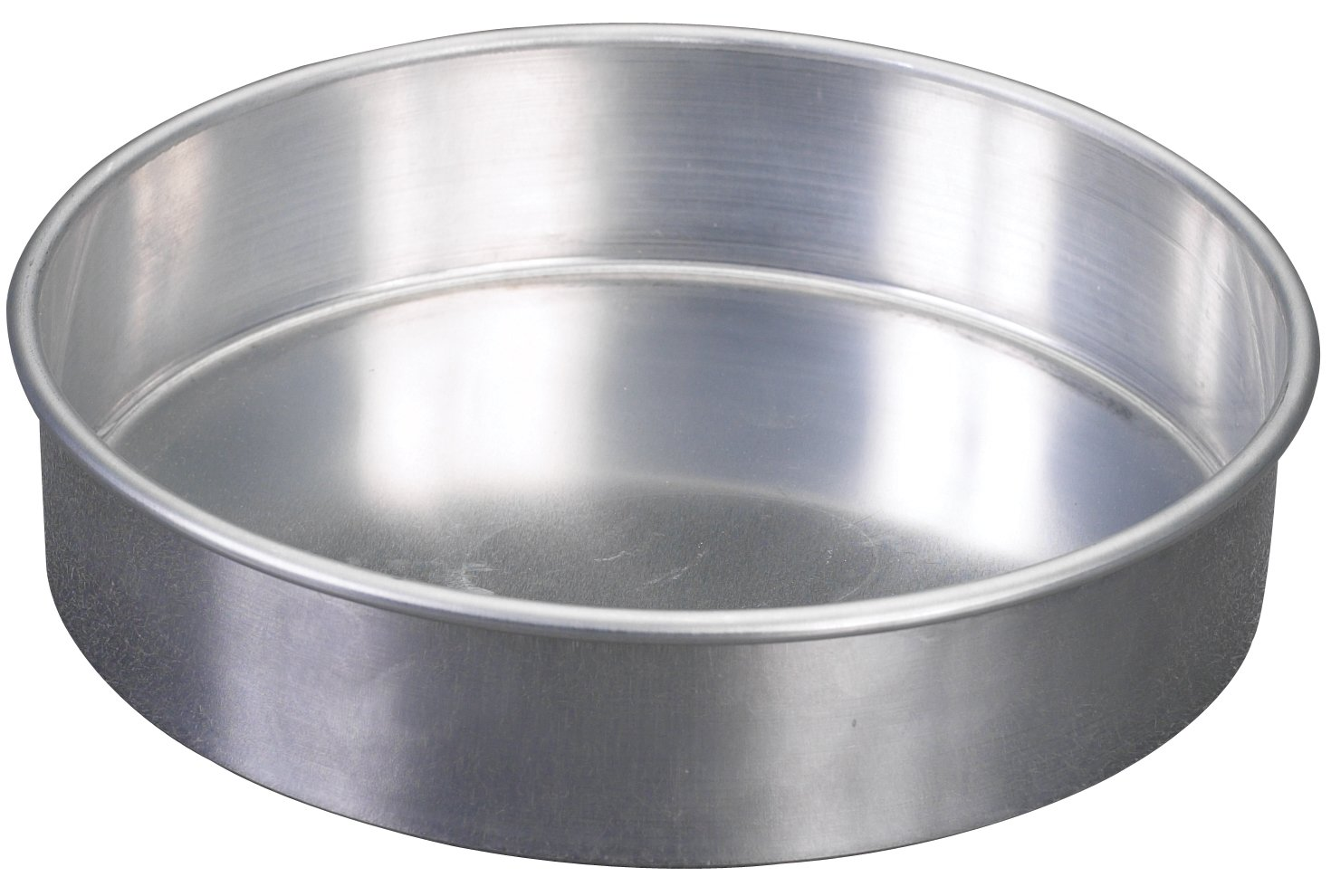 (Pack of 4) Nordic Ware Natural Aluminum Commercial Round Layer Cake Pan