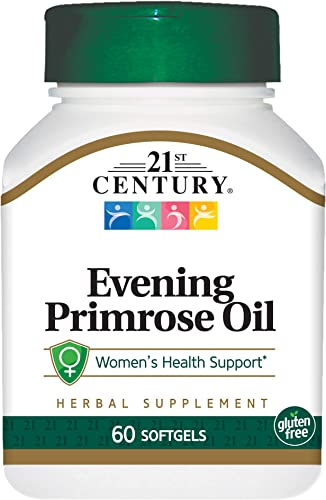 21st Century Evening Primrose Oil Softgels, 60 Count