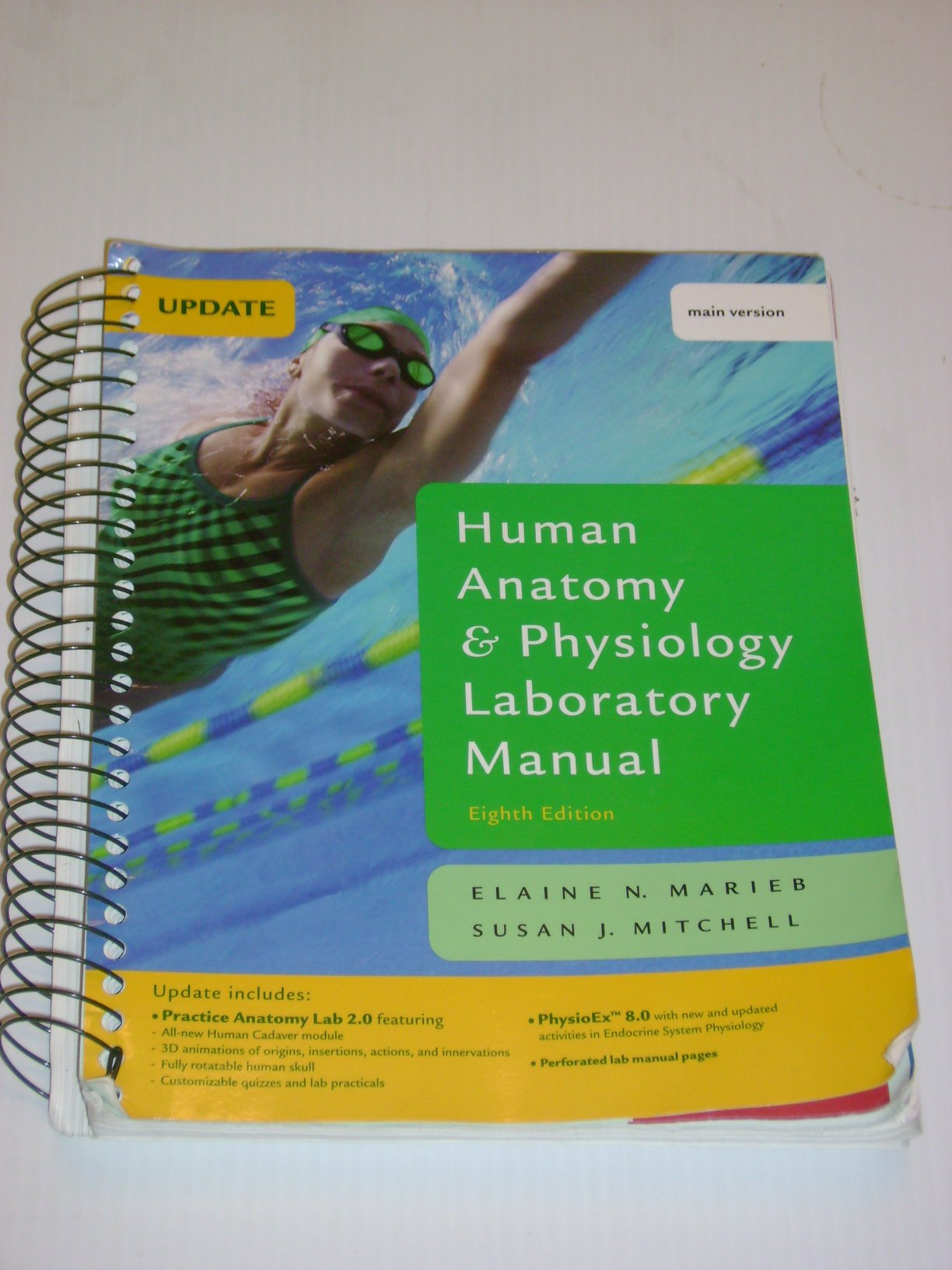 Human Anatomy & Physiology Laboratory Manual, Main Version, Update ...