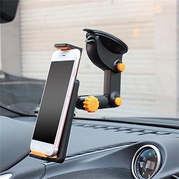 Fochutech coche teléfono móvil soporte para Tablet soporte para parabrisas salpicadero largo brazo Universal GPS, Smartphones, iPhone ABS: Amazon.es: Coche ...
