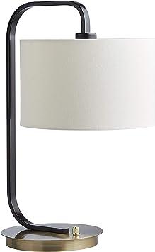 desk lamp Curved reading lamp craft lighting task lighting heavy glass base