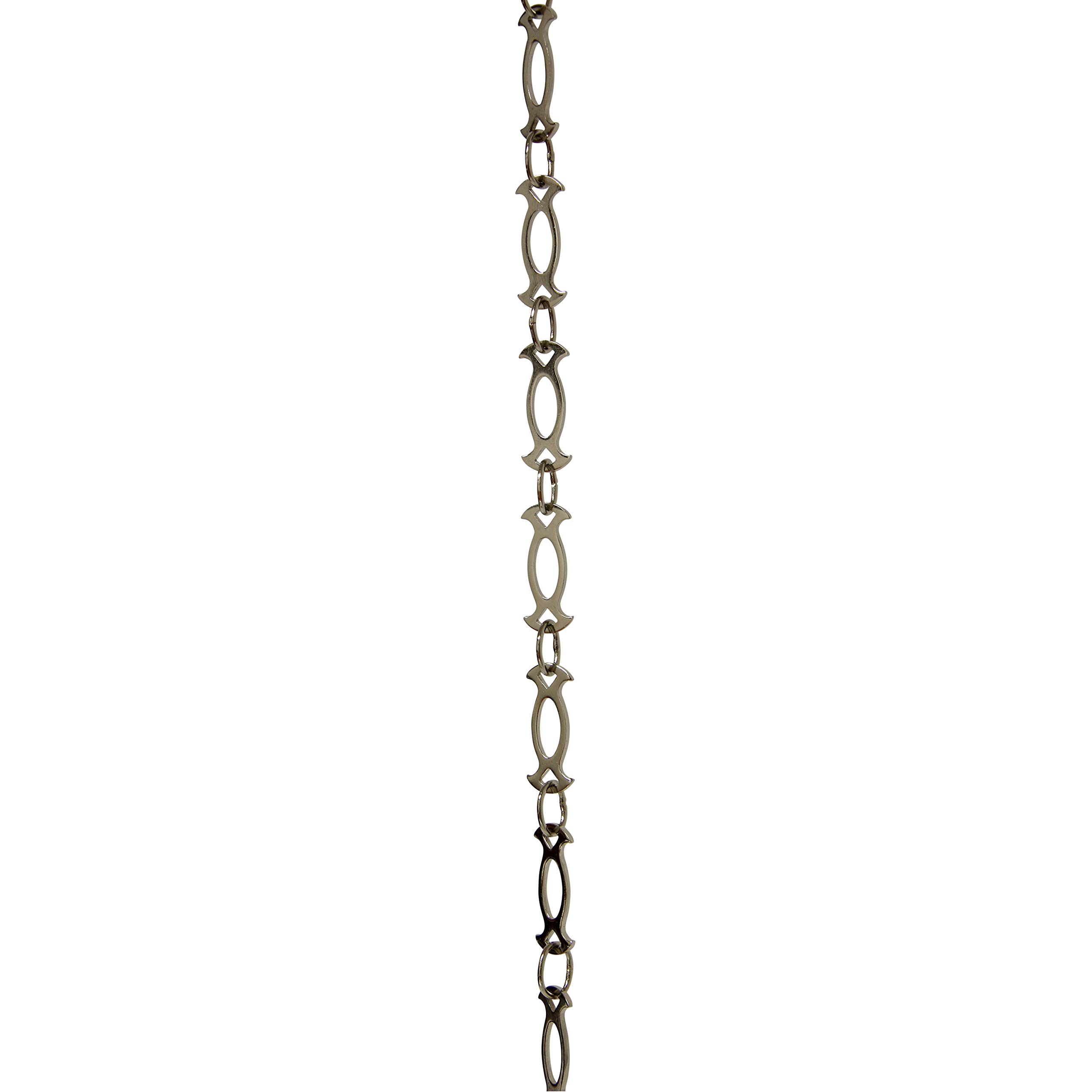 RCH Hardware CH-47-PN-3 Fixture Chain Polished Nickel