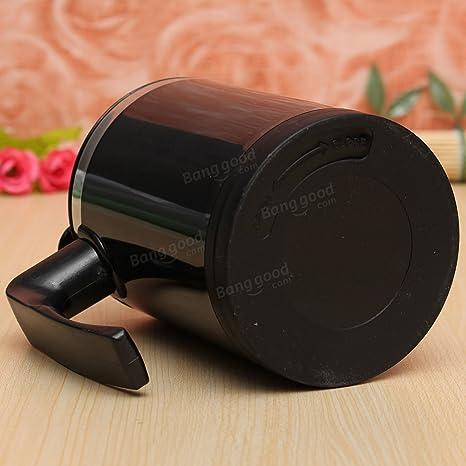 Paleo Agitación automática taza de té cafetera eléctrica portátil 400ml: Amazon.es: Hogar
