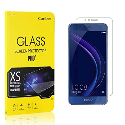 Conber (1 Pack) Screen Protector for Huawei Honor 6A, [Scratch-Resistant][Anti-Shatter][Case Friendly] Premium Tempered Glass Screen Protector for Huawei Honor 6A: Baby [5Bkhe1804795]