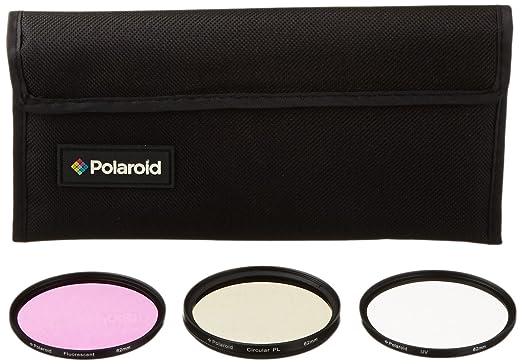 204 opinioni per Set di 3 filtri ottici Polaroid da 62 mm (UV, CPL ed FLD)