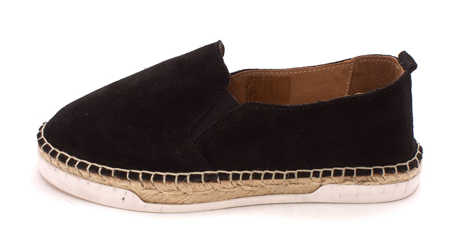 André Assous Womens Shane Suede Closed Toe Mules