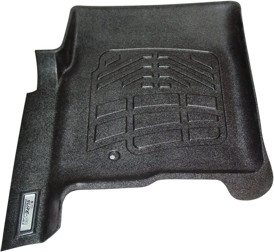Wade 72-110011 Black Sure-Fit Front Right and Left Molded Floor Mat Set 1 Pair