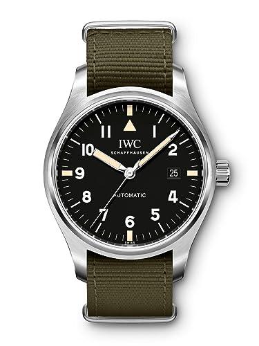 Marca de reloj de piloto IWC Schaffhausen XVIII edición homenaje a Mark XI modelo #: iw327007: Amazon.es: Relojes