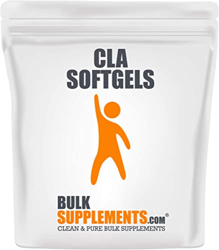 BulkSupplements.com Conjugated Linoleic Acid CLA 1000 mg 300 Softgels