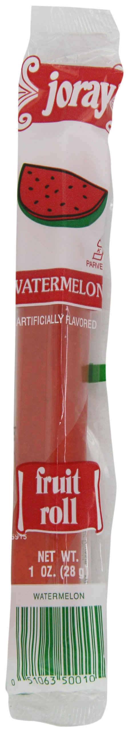 Joray Fruit Roll, Watermelon, 1-Ounce Units (Pack of 48) by Joray (Image #1)