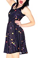 Lady Queen Women's Pacman Scoop Skater Dress Clubwear Ball Party Skirt