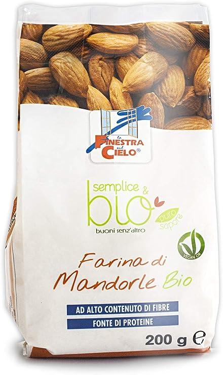 Harina de almendra 200g Bio: Amazon.es: Salud y cuidado personal