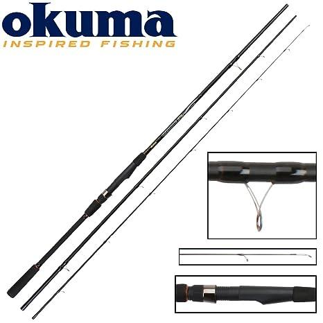 Okuma Carbonite Match caña 390 cm 35 g – Caña de pescar para stippen, caña