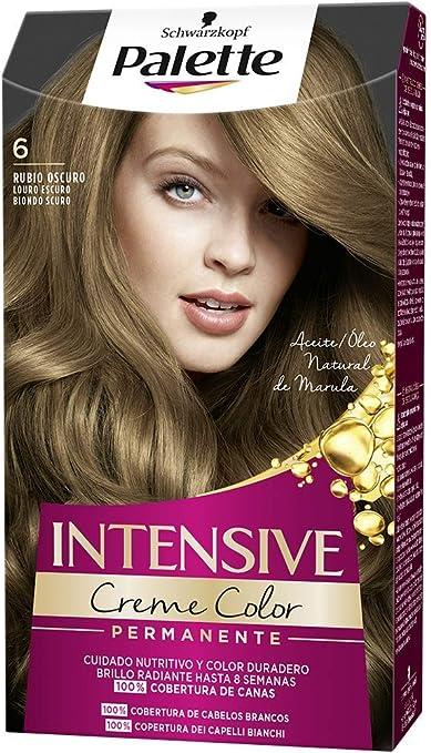 Schwarzkopf Palette Intensive Creme Color - Tono 6 cabello ...