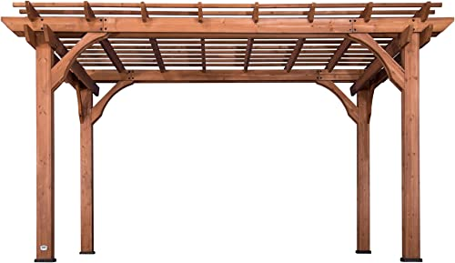 Backyard Discovery 1802513 Wooden Sturdy Pergola