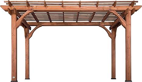 Backyard Discovery 1802513 - Cedro de madera (pergola, 25, 4 ...