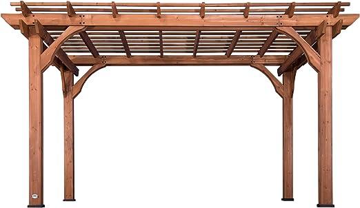 Backyard Discovery 1802513 - Cedro de madera (pergola, 25, 4 x 35 ...