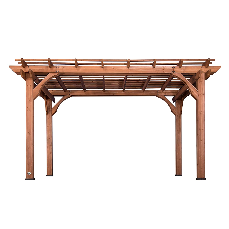 wooden pergolas