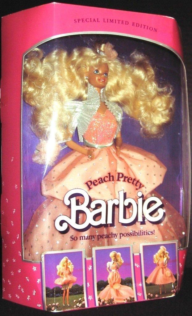 Special Limited Edition Peach Pretty Barbie 4870 Barbie 04870 vg