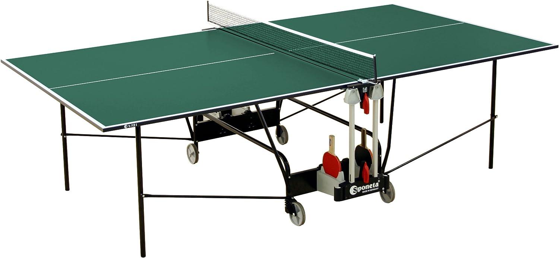 Sponeta - Mesa de ping pong (interior, 274 x 152,5 x 76 cm ...