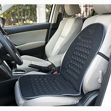 Cubiertas de asiento de coche, masajeador de burbuja magnética cojín de asiento de coche protector cubre Ultra comodidad para el dolor de espalda ...