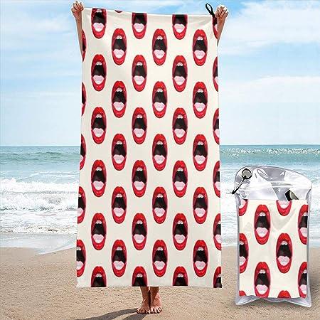 Serviettes de Plage pour Femmes Hommes Blanket Sexy Hickey ...