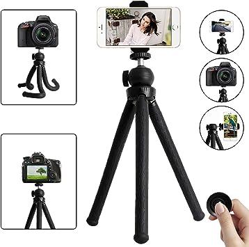 Lypumso trípode Flexible para cámara, trípode portátil Premium con ...