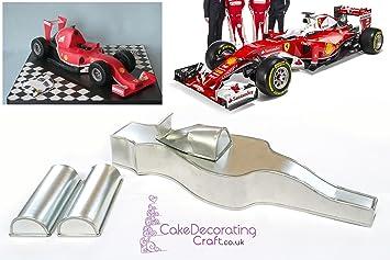 3d novedad Cake hornear latas y sartenes   fórmula F1 Racing COCHE ...