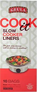 Geula Slow Cooker Liners, Small (2 Pack) 20ct