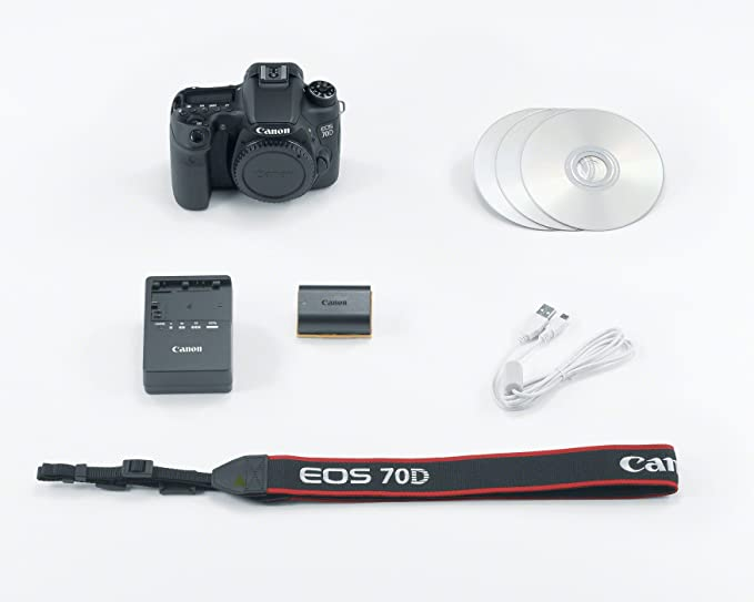 Canon EOS 70D Cuerpo de la cámara SLR 20.2MP CMOS 5472 x ...
