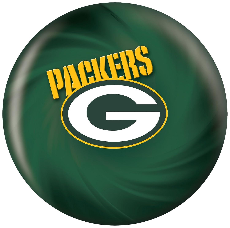 KR Strikeforce 2013 NFLグリーンベイパッカーズボーリングボール、ダークグリーン/ゴールド、6 lb B077JX8G4V