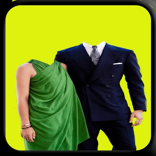 Love Couple Photo Suit