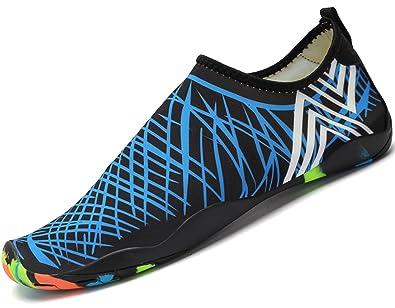 0dc71913b1681c katliu Aqua Shoes Pool Beach Water Sea Surf Barefoot Walking Swim Shoes for Women  Men,