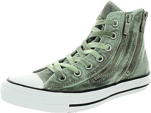 Converse Damen Schwarz Wash Chuck Taylor All Star Dual Zip Schuhe