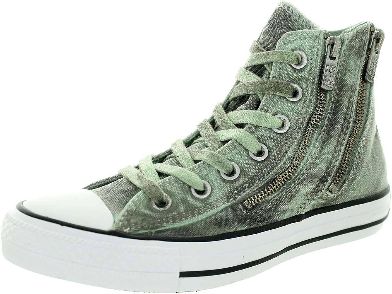 Converse Lavis Noir Chuck Taylor All Star Double Chaussures