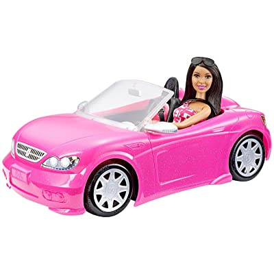 Barbie Convertible and Doll Pack, Dark Hair: Toys & Games