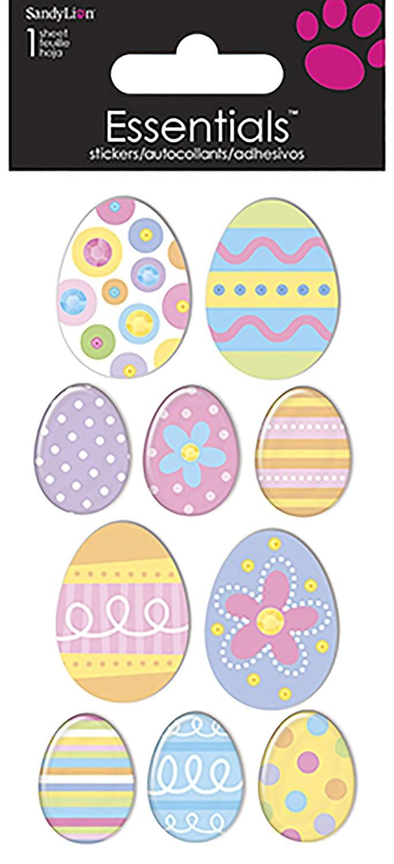 Sandylion Easter Eggs Essentials Sticker
