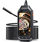1080P Dual-Lens Endoscope, DEPSTECH Borescope with 4.5in IPS Screen, HD Inspection Camera with 6 Adjustable LED Lights…