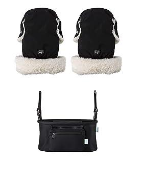 Pack de manoplas + bolso para carrito de bebé: Amazon.es: Bebé
