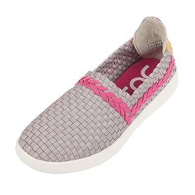 Dude Shoes Women's E-last Simple Funk Grey Slip On UK3 / EU36 E0mvqQojb