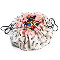 Play&Go Minnie Gold Toy Storage Bag, 140cm