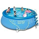 Intex Easy Set Pool Set, 15-Feet by 48-Inch, Blue
