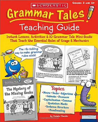 Where to find grammar tales teaching guide?