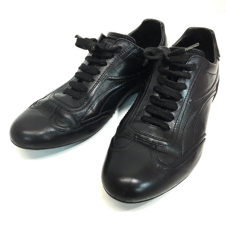 (ルイヴィトン) LOUIS VUITTON メンズシューズ 靴 オールレザー スニーカー レザー メンズ 中古 B0785KJPKZ